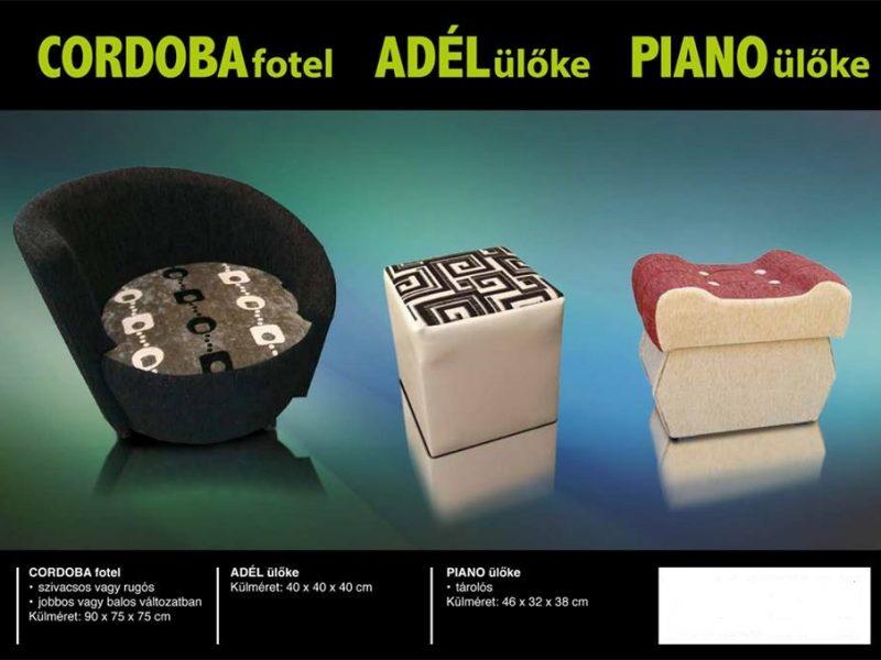 Cordoba adél  Piano_ülőke