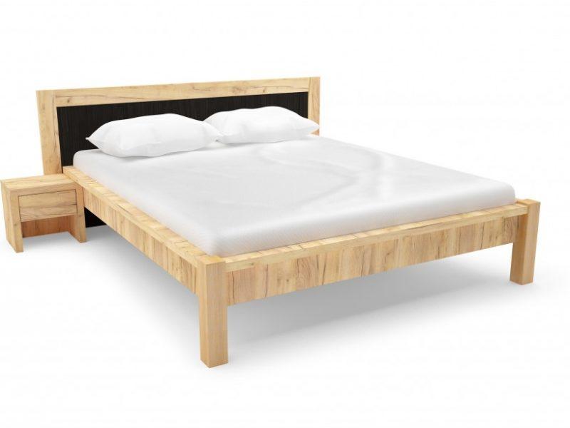 Új ágykeret aranytölgy
