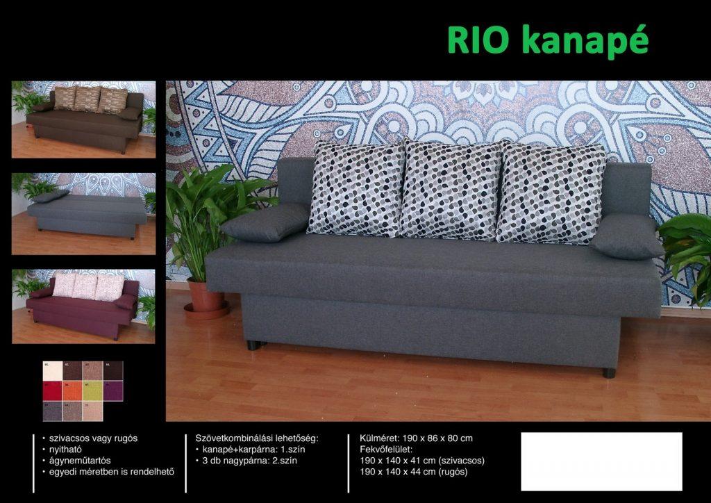 Rio kanapé